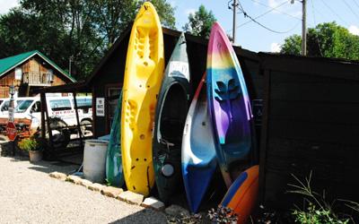 anoes kayaks rafts tubes
