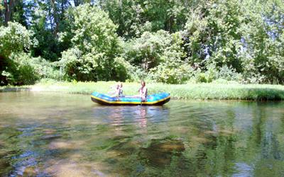 raft float trips big river missouri